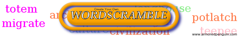 Word Scramble Banner