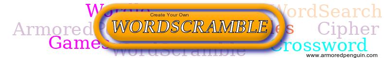 Word Scramble Banner